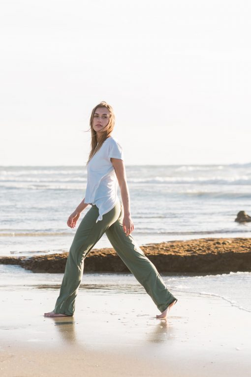 Cotton Yoga Pants - Sooti organics