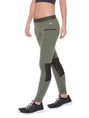 Ergonomic Tights Colour Olive Snow Size XL