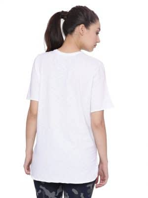 Super comfortable  soft and stylish organic cotton Layer Tee:Colour White Size XL