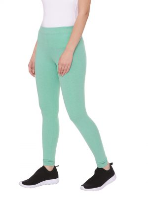 Super comfortable and soft organic cotton Tights:Colour Persian Green Size XL