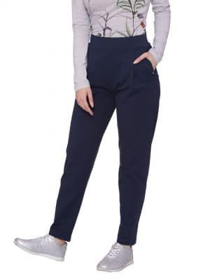 Stylish comfortable and soft organic cotton Lounge Pants:Colour Navy Size XL