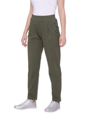 Stylish comfortable and soft organic cotton Lounge Pants:Colour Olive Size XL
