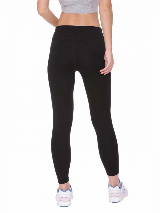 Super Comfortable and soft organic cotton Cropped Leggings Colour Black Size XL