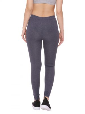 Super Comfortable and soft organic cotton Full Leggings Colour Navy Size L